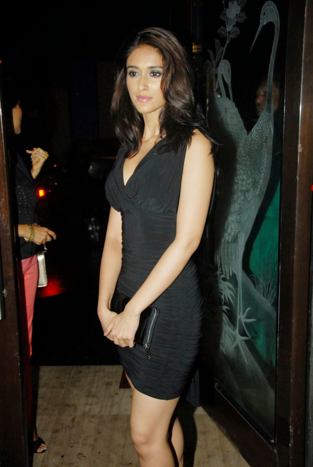 sparling exoitc Ileana d'cruz hot photos in black short dress  Bollywood, Tollywood, elegant, excellent, hot sexy actress image gallery