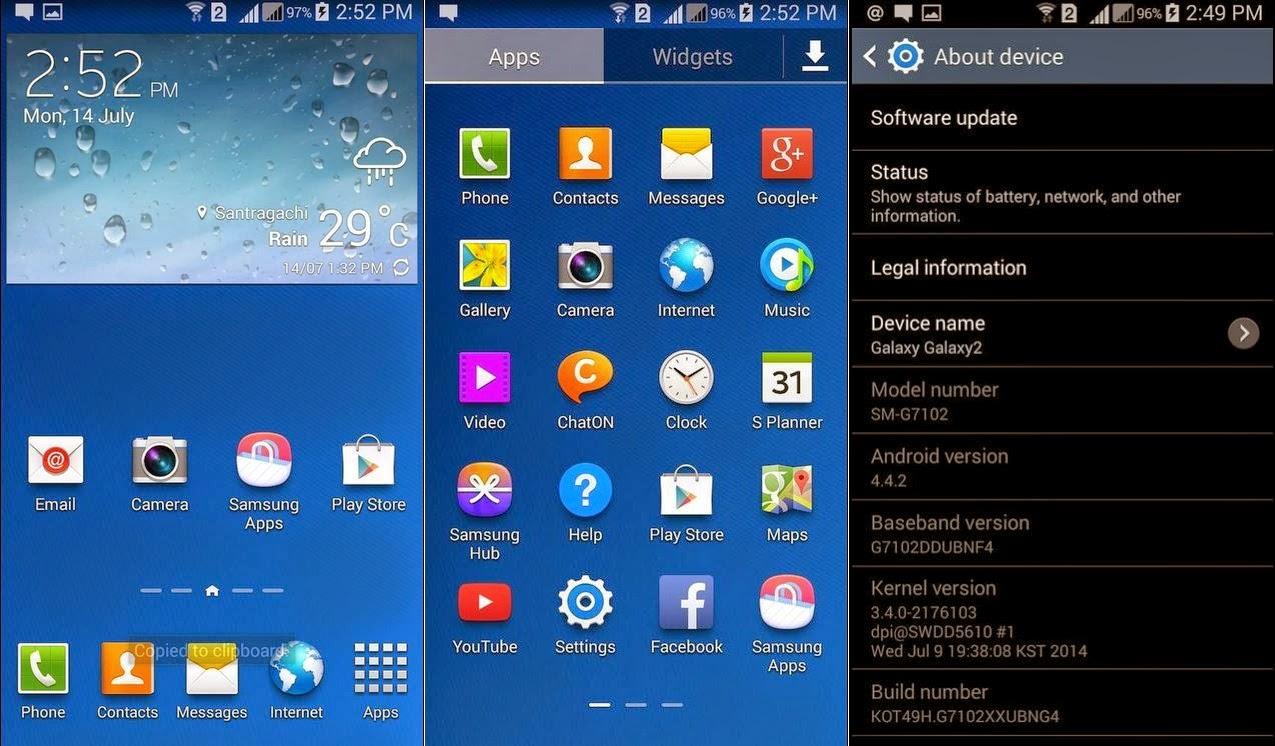 Update OTA KitKat 4.4 Hadir di Samsung Galaxy Grand 2