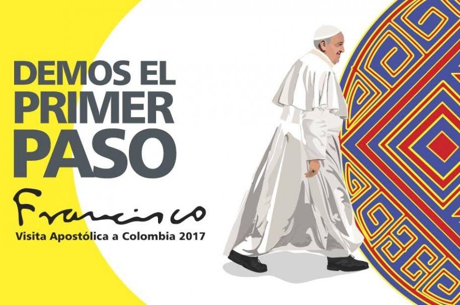 EL PAPA FRANCISCO VISITA COLOMBIA