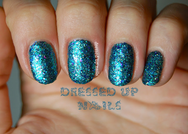 Dressed Up Nails: Shimmer Polish Sarah swatch