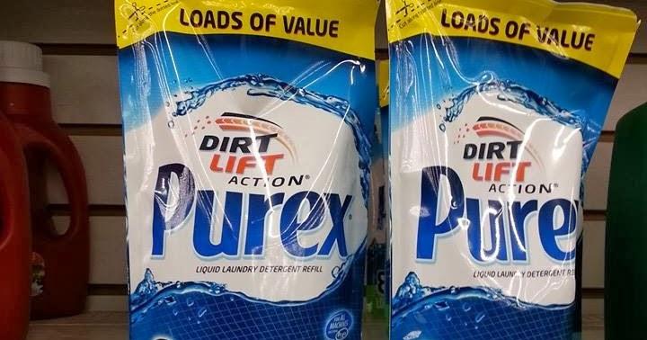 Dollar Tree Deals Purex Liquid Laundry Detergent 25 Cents