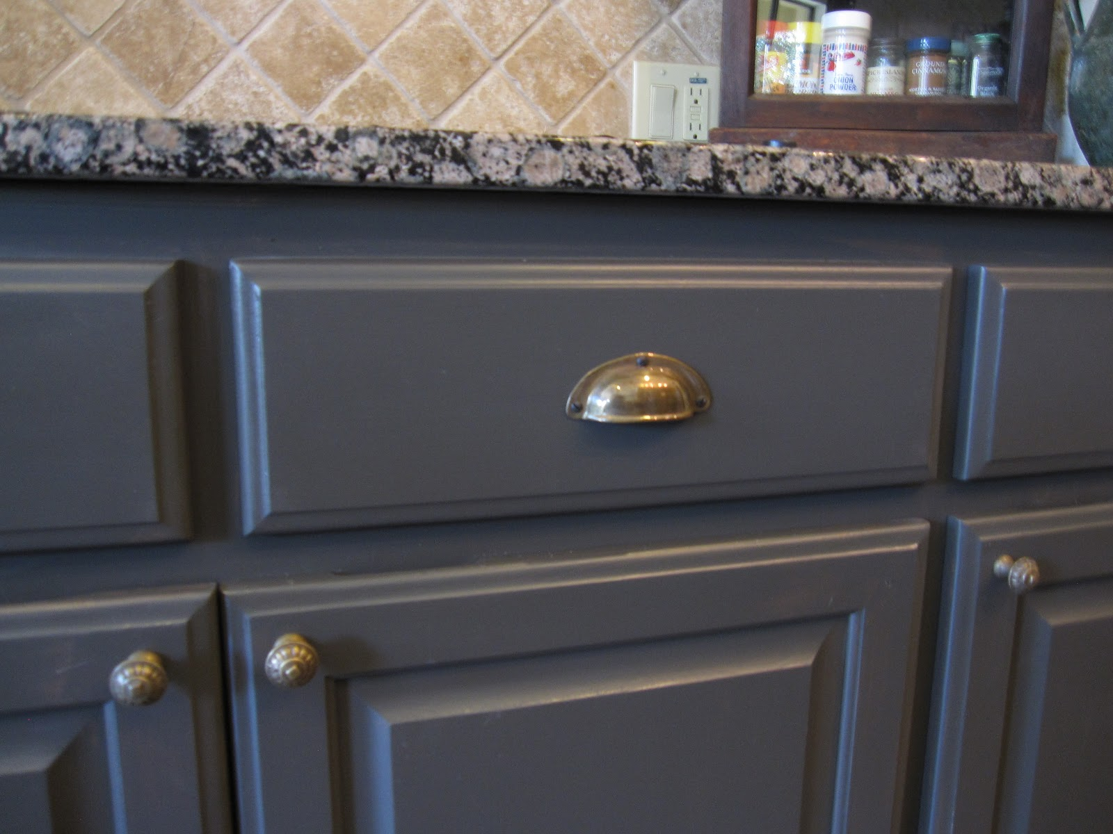 The Decorating Duchess Great Deal On Hardware - Hardware for gray kitchen cabinets