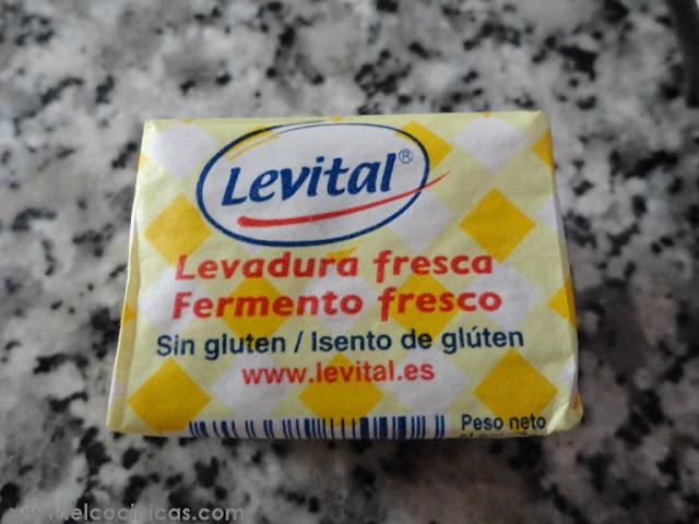 Pan sin gluten - Levadura levital sin gluten