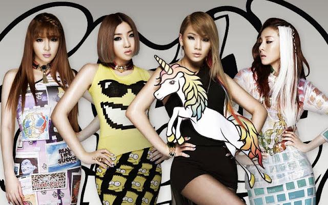 Foto 2NE1 Global Tour 2012