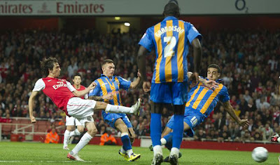 Arsenal FC 3 - 1 Shrewsbury Town (1)