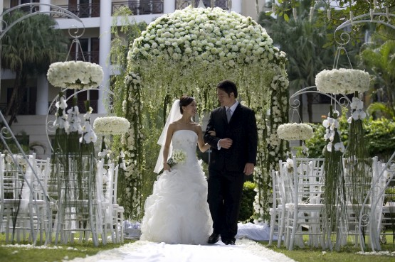Interior design ideas wonderful wedding venue decoration for Decorating for outdoor wedding