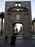 The door of Old city of montevideo ciudadela