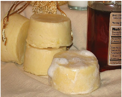 DIY California Goats Milk and Honey Shampoo Bar Recipe