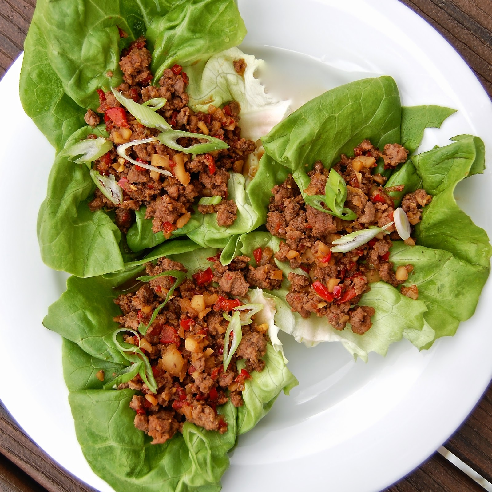Much Kneaded: Asian Lettuce Wraps