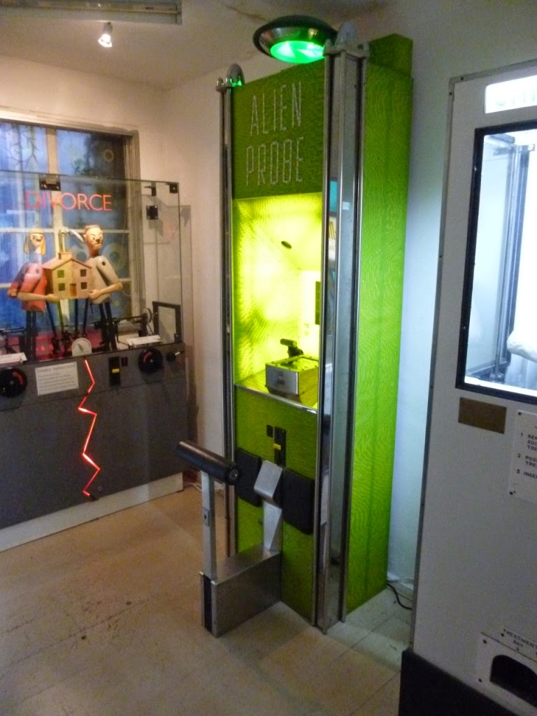 Novelty Automation arcade in London