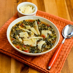 ... Cooker Vegetarian Cannellini Bean and Kale Soup with Shaved Parmesan