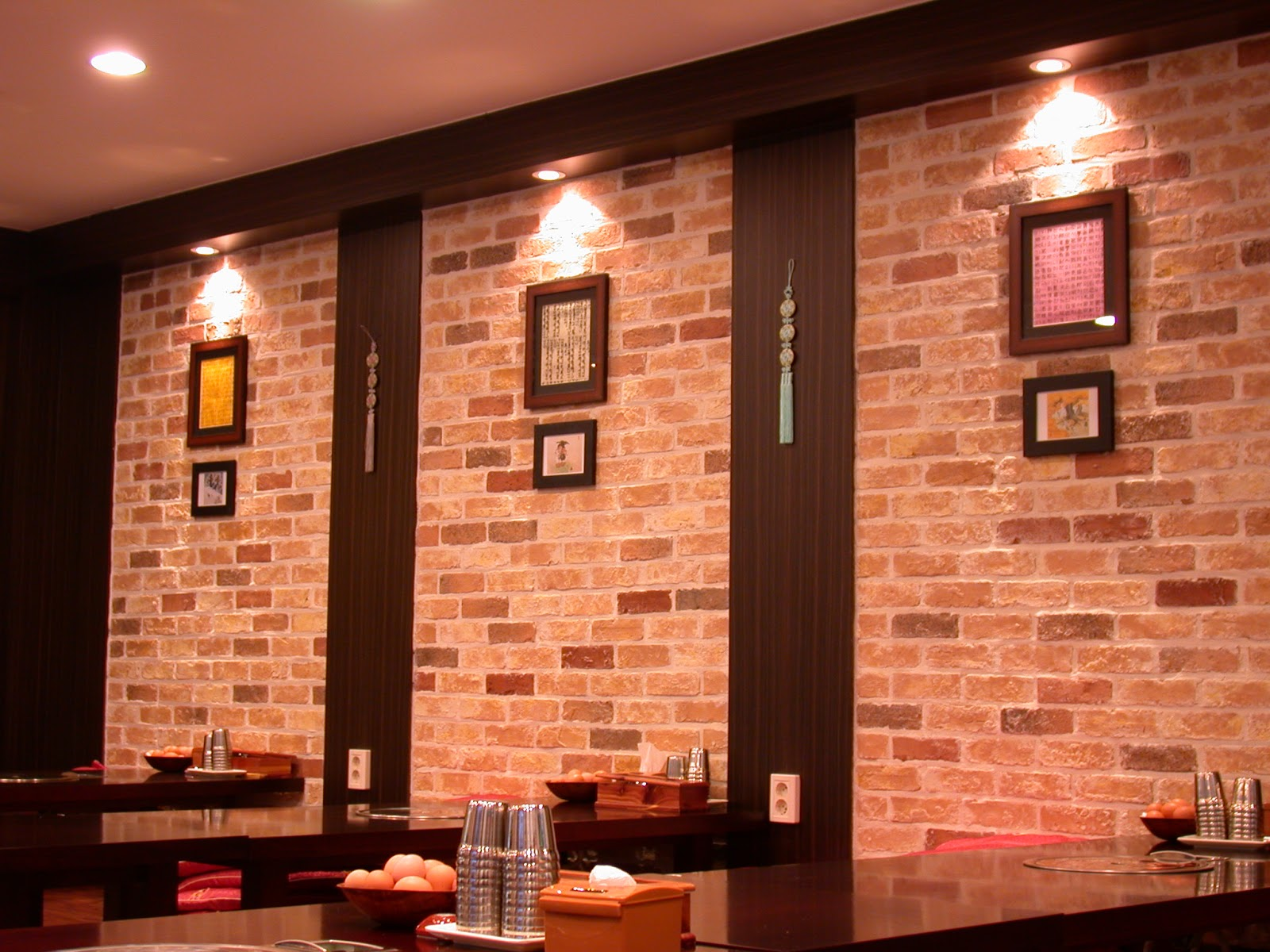 Brick Wall Interior House Interior Brick Veneer3
