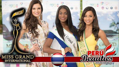 Comienza la competencia - Miss Grand International 2015