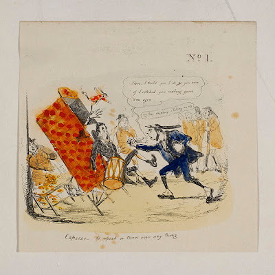 Comic Illustration from the George Speaight Punch and Judy Archive