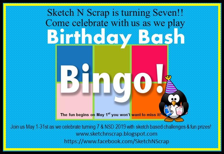7th Birthday Bash Bingo