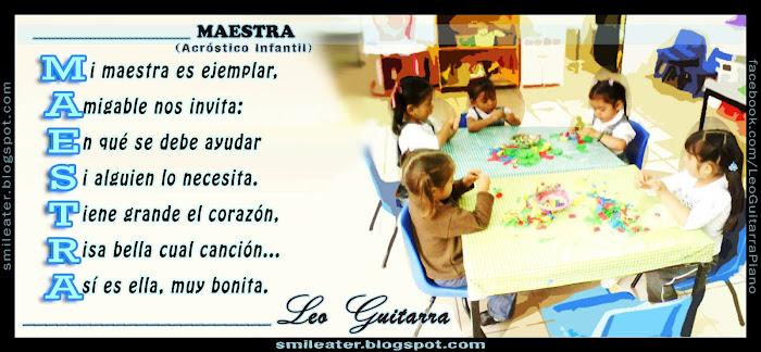 Poemas Para La Mejor Maestra