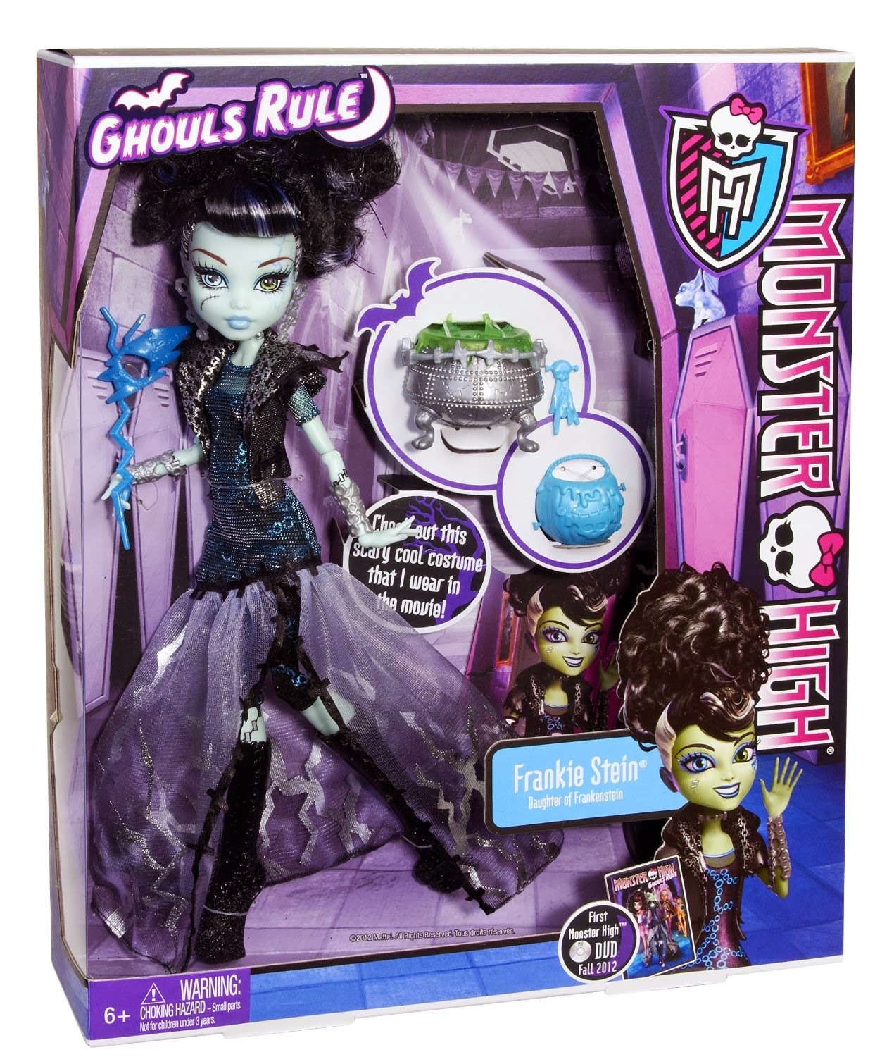 Monster High Toys : Libros y juguetes demagiaxfa toys frankie stein
