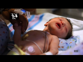 Amina and Peter Gunz baby girl