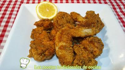 receta pollo crujiente