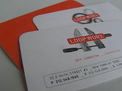 vintage tarjetas de presentacion