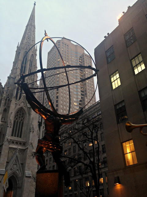 Rockefeller Center New York City Holiday Time