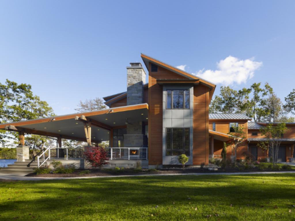 Minha casa na serra fachadas casas de campo for Modelos de casas rusticas de campo