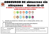 Concurso ALÉRGENOS