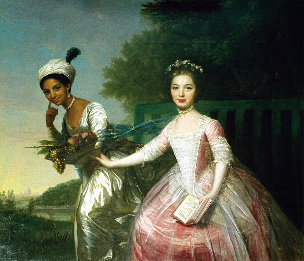 Dido Elizabeth Belle and Elizabeth Murray by Unknown