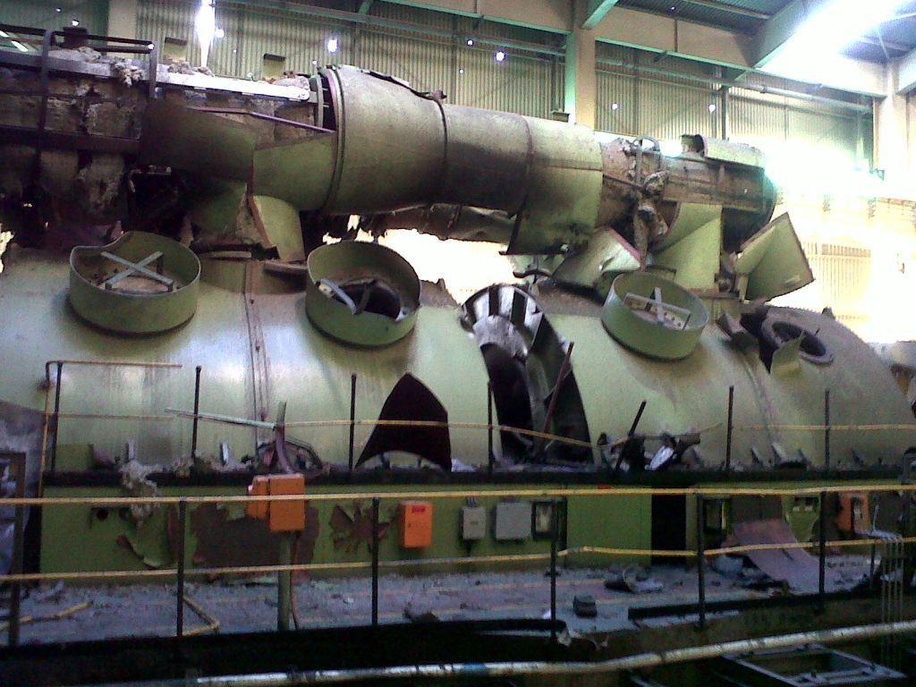 Turbochad Turbine Crash In South America With Pictures