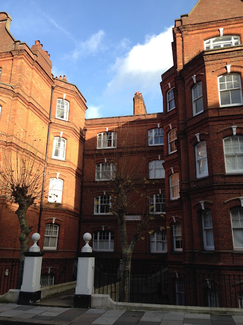 Mansions, West Kensington, London