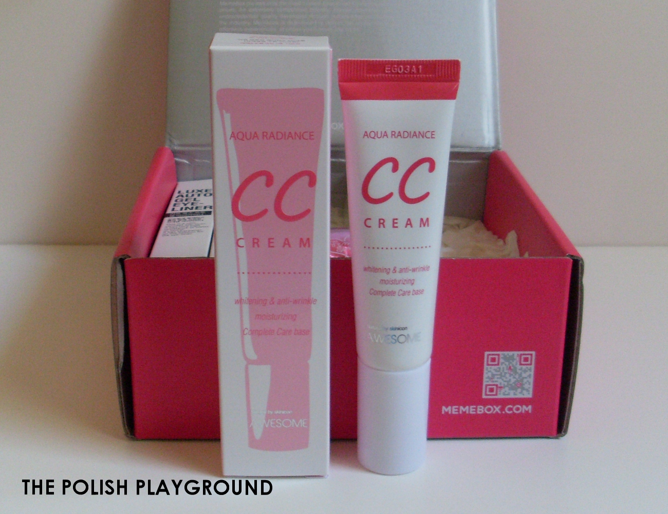 Memebox Special #17 K-Style Cosmetics Unboxing - awesome Aqua Radiance CC Cream
