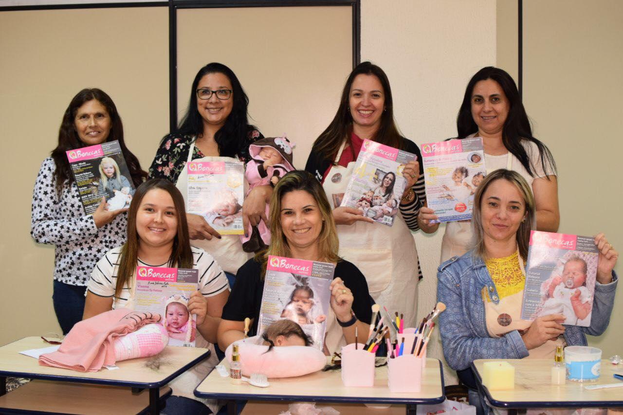 Todas lindas com a QBonecas Magazine! Gratificante ver isso! Muito obrigada, meninas!