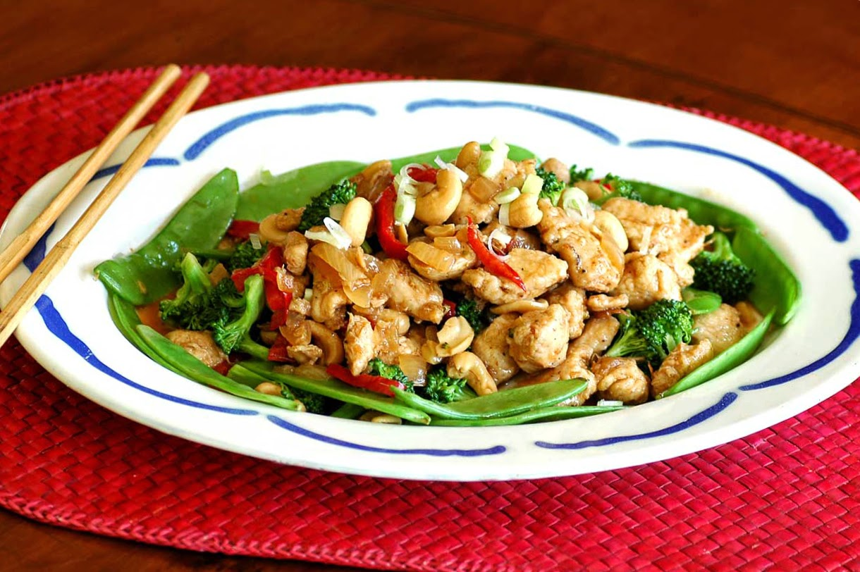 ... Time in the Kitchen: Sweet and Spicy Cashew Chicken with Quinoa