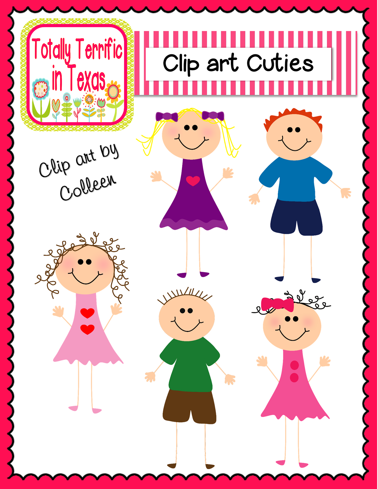 http://www.teacherspayteachers.com/Product/Clip-Art-Cuties-Color-1261347
