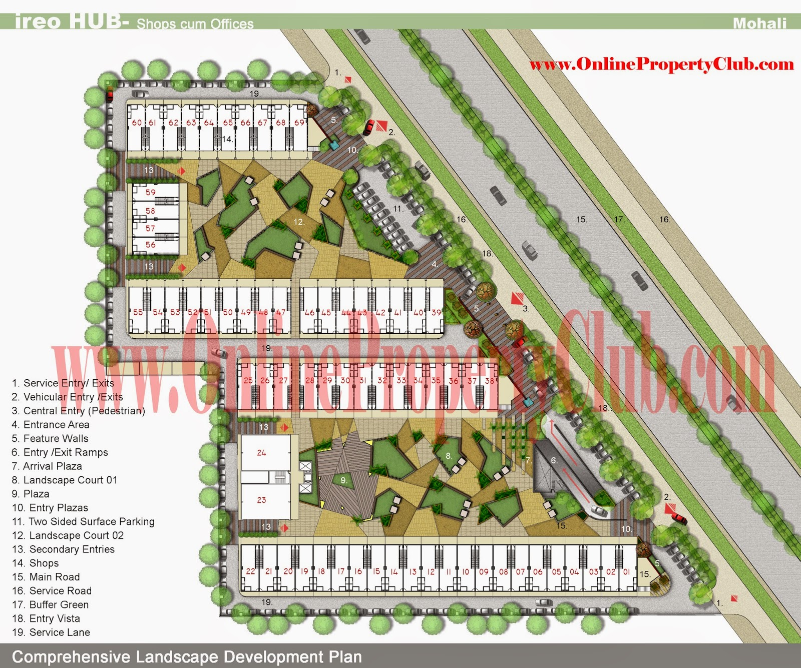 IREO Hub-Commercial SCO-Showroom Plots in Sector-98 Mohali