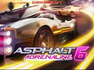 Tải Game Đua Xe Asphalt 6 Java