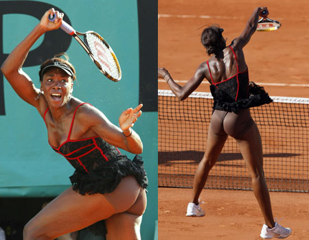 Venus Williams pulled out of the French Open on Friday  24 hours after    Venus Williams Body Measurements