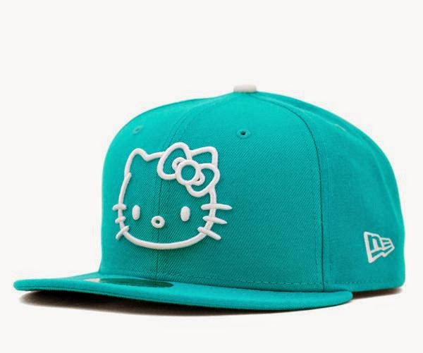 Gambar Topi Hello Kitty Biru Lucu Hat Hello Kitty