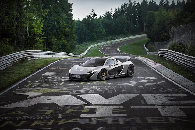 McLaren P1 Laps The Nurburgring In Under 7 Minutes