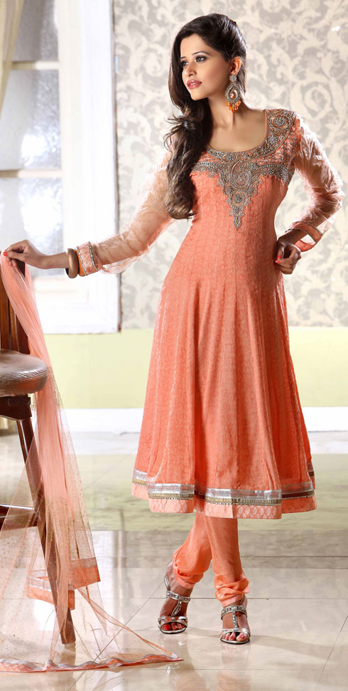 Designer Wear Anarkali 2012, Stylish Anarkali for Indian Girls