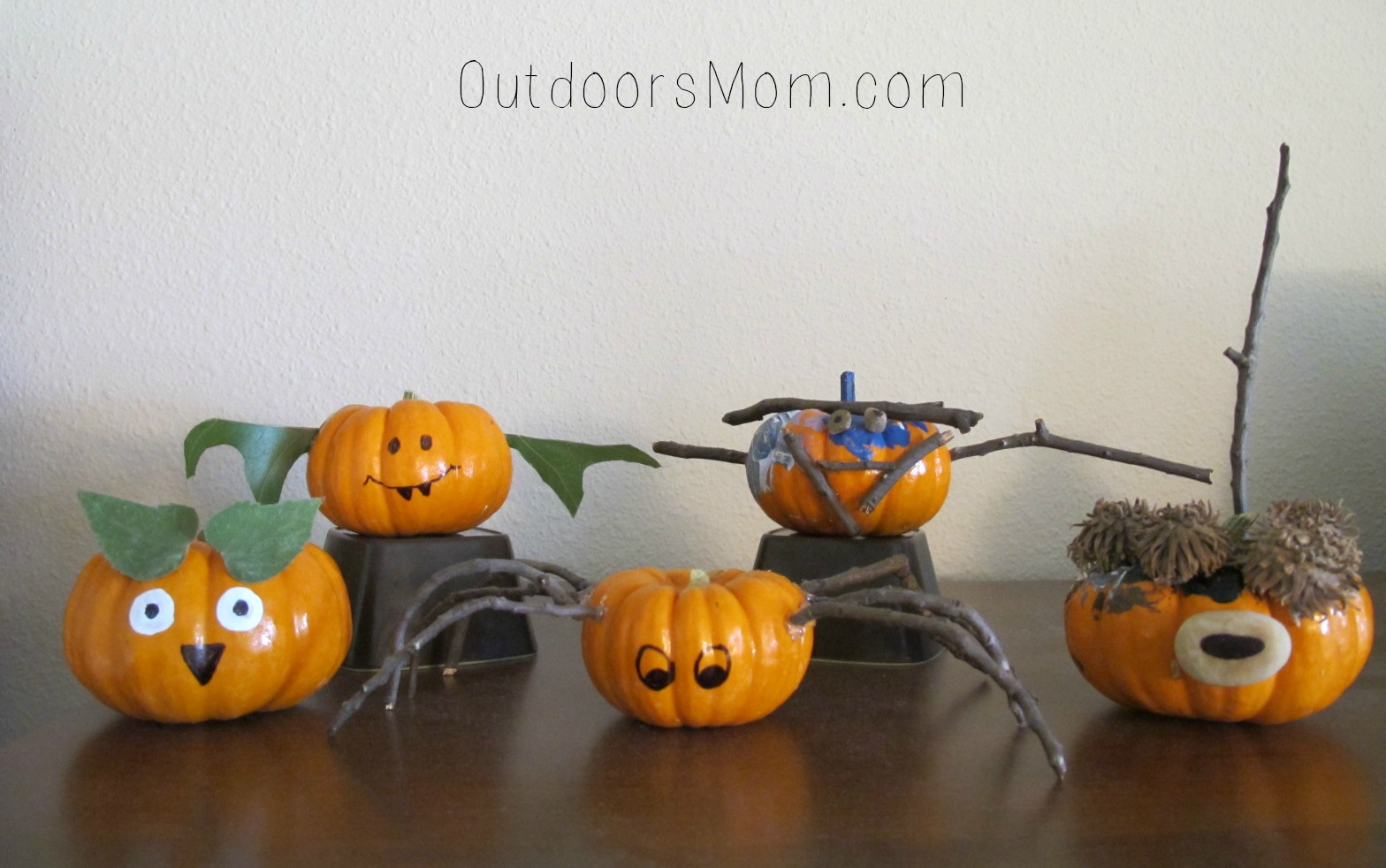 i am always looking for ways to use them in crafts and activities this month i thought it would be fun to use them in decorating pumpkins