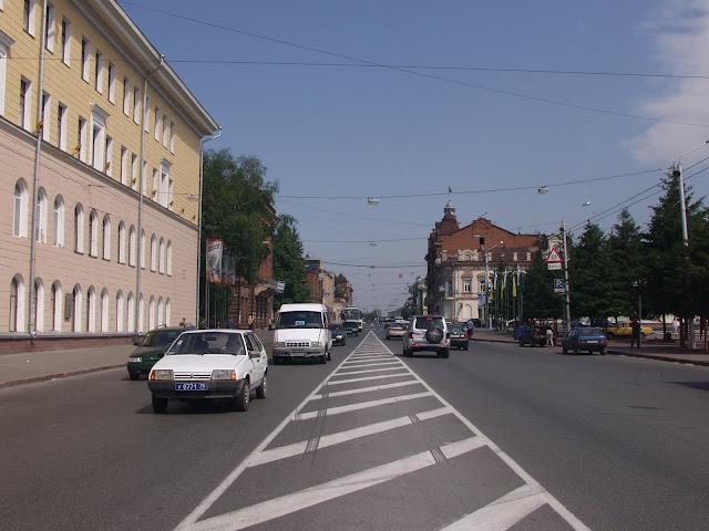 площадь Революции в Томске