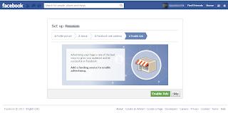 Facebook Page Ad