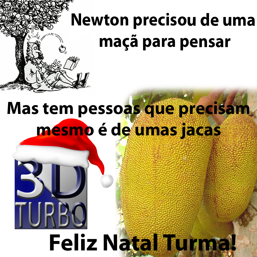 Feliz Natal 3D Turbo Feliz Natal Galera