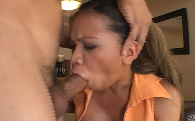 image Incredibly sexy milf blowjob on amateur webcam tv show