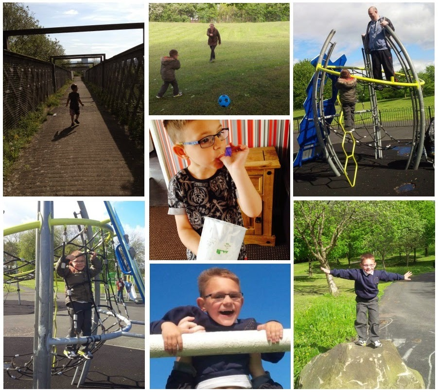 Project 365, A Photo A Day, #CountryKids, Yorkshire Blog, Parent Blog, Mummy Blog, Park, Climbing, Trains,