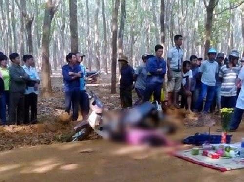 Gia Lai: 2 nữ sinh cùng họ tên chở nhau đi học - 1 người chết, 1 người bị thương nặng