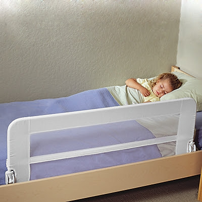 mesh bed rail cosleeping 2