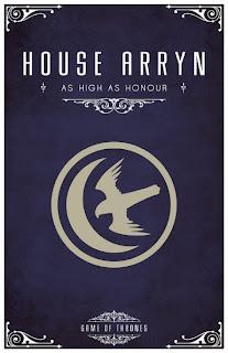 emblema casa Arryn - Juego de Tronos en los siete reinos