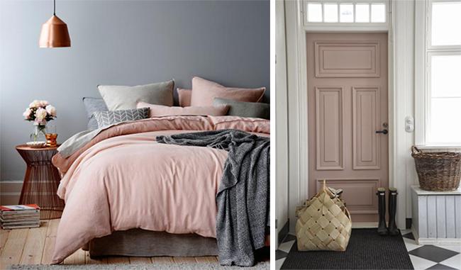 Como decorar en rosa cuarzo como te quedas - Decoracion ropa de cama ...